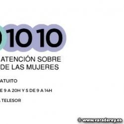 SERVICIO GRATUITO DE INFORMACIÓN Y ATENCIÓN TELEFÓNICA SOBRE LOS DERECHOS DE LAS MUJERES