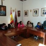 LOS NIÑOS DEL COLEGIO VISITAN EL AYUNTAMIENTO